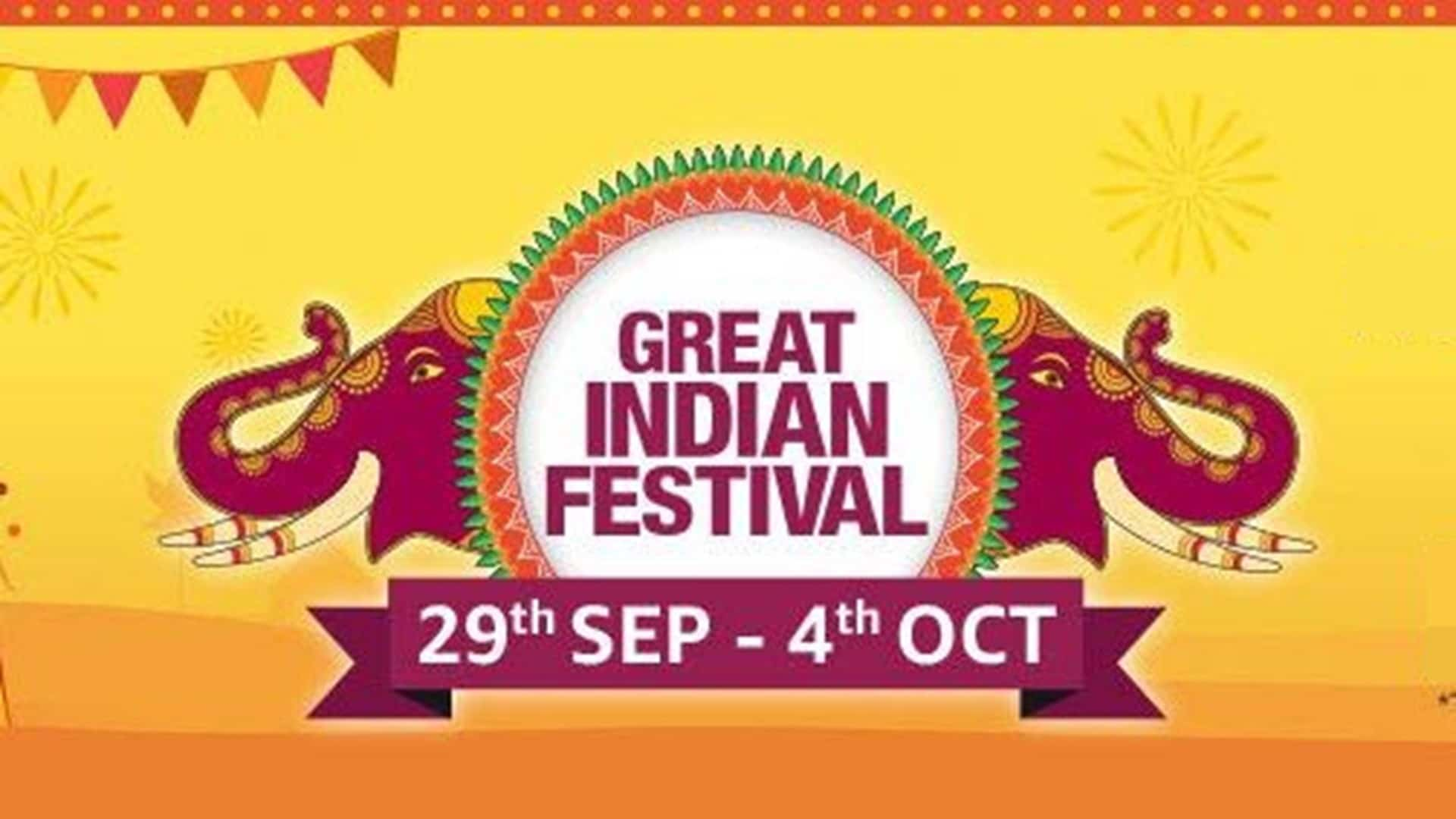 GREAT INDIAN FESTIVAL 28th SEP – 4th OCT – AMAZON.IN
