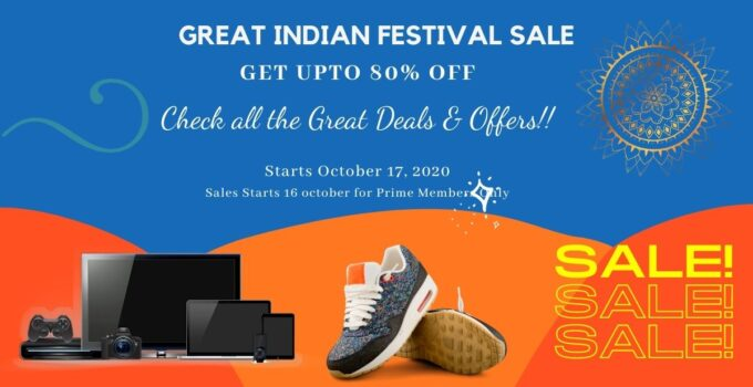 Amazon Great Indian Festival Sale great deals and Offers